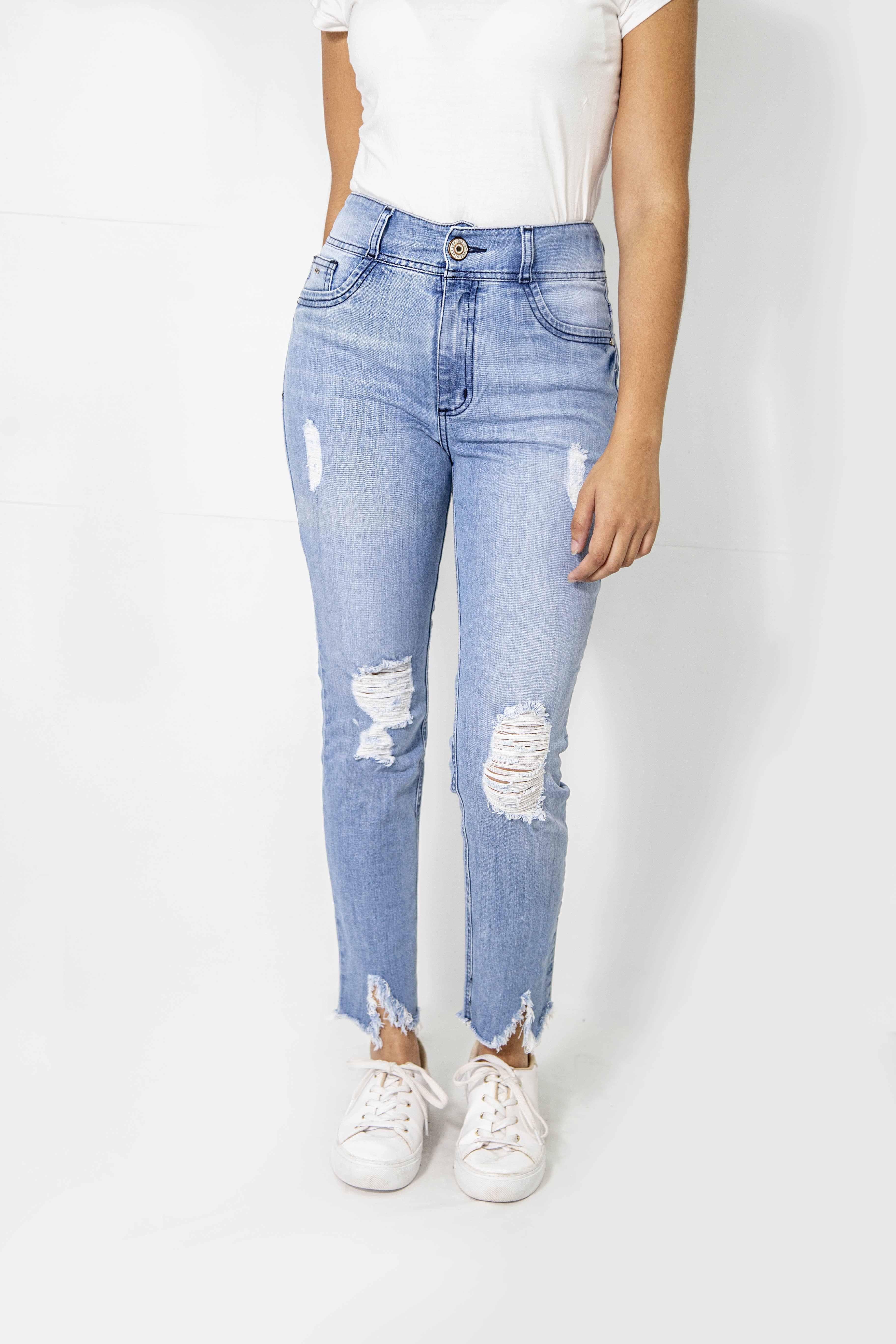 Cropped Dama Jeans Elast. Cod. 1190114