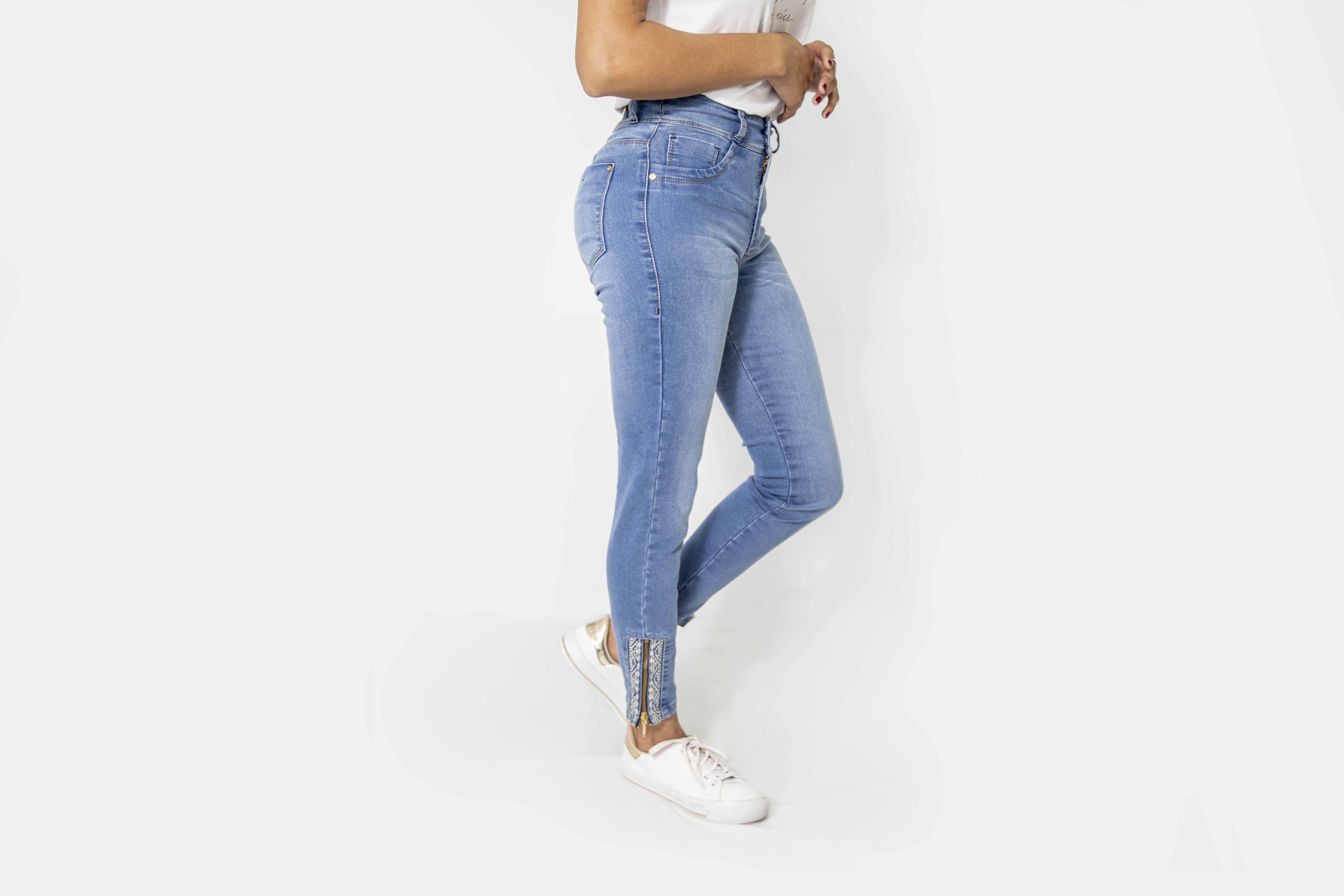 Cropped Dama Jeans Elast. Cod. 1190536